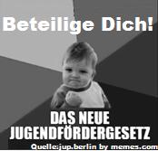 Ein Jugendfördergesetz für Berlin – Beteiligung junger Menschen sichern!